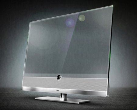 Прозрачный телевизор Loewe INVISIO. ЖК-дисплей+TOLED-технологии