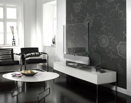 Прозрачный телевизор Loewe INVISIO. ЖК-дисплей+TOI-Дтехнологии