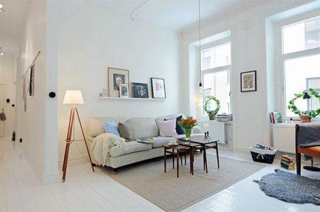 Проект современной шведской квартиры