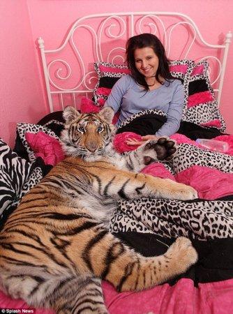 Её котёнок
