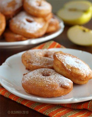 [выпечка] Голландские пончики с яблоком