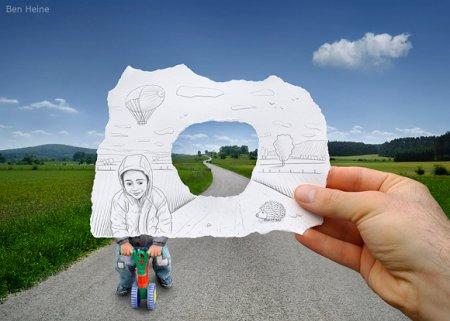 Союз рисунка и фотографии