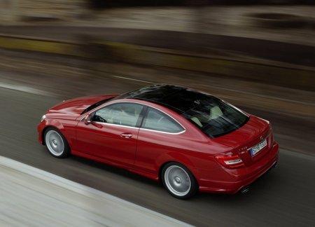 Купе Mercedes-Benz C-Class представили официально