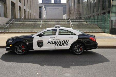Mercedes-Benz CLS 63 AMG для Нью-Йоркской недели моды