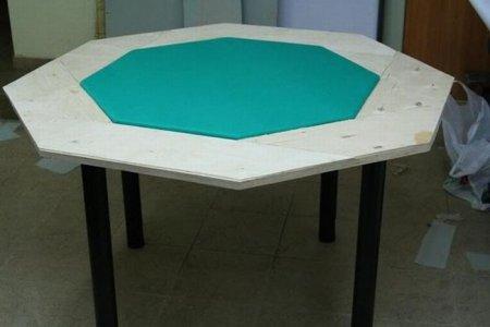Делаем стол для покера