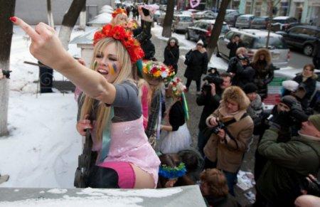 """����� Femen """"������ �� �������"""""""