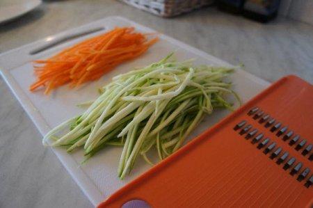 Запеченый палтус на овощной подушке