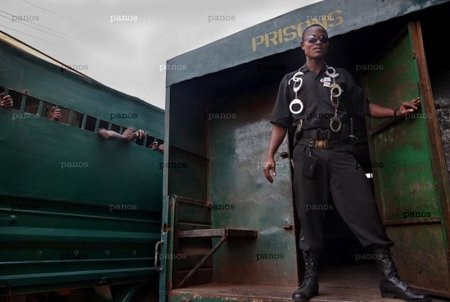 Тюрьма Фритауна в Сьерра-Леоне