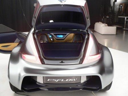 Nissan ESFLOW - первые живые фото перед официальным анонсом