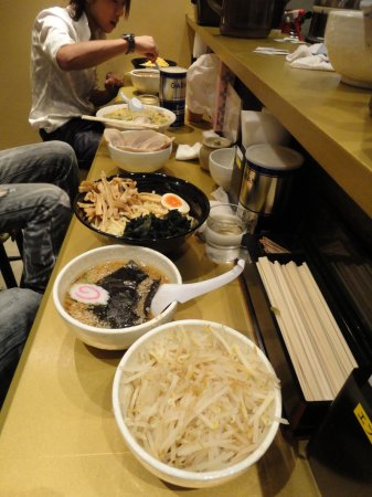 Ужин по-японски