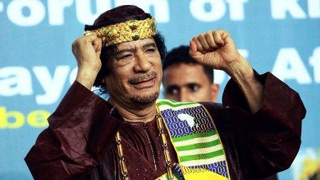 Импозантный Муамар Каддафи