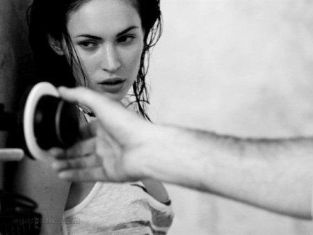 Megan Fox в рекламе Армани