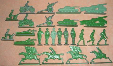 Наборы солдатиков от Минского моторного завода
