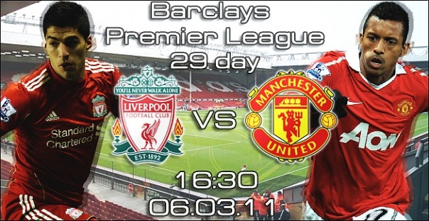 North West Derby! Liverpool vs MANCHESTER UNITED !