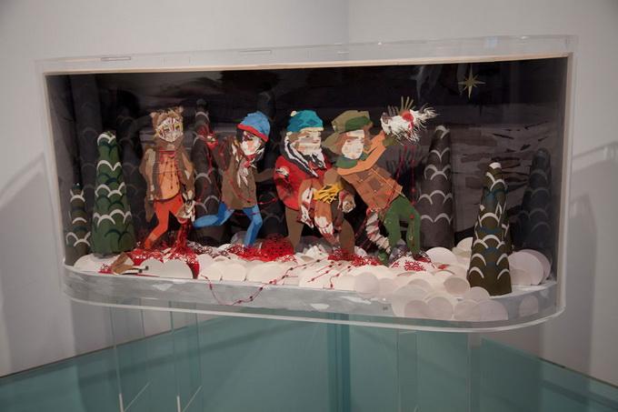 Выставка Рона Инглиша в честь South Park