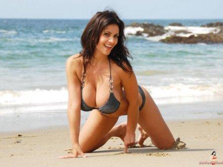 Лето, пляж, девушка