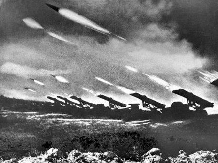 Первые применения реактивной артиллерии на советско-германском фронте