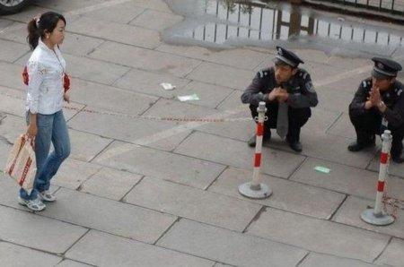 Немного о китайских полицейских