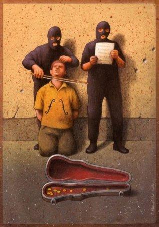 Очень крутые карикатуры от поляка Pawel Kuczynski