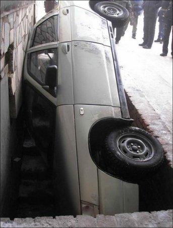 Метко припарковался