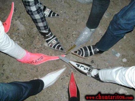Ботинки для реальных пацанов