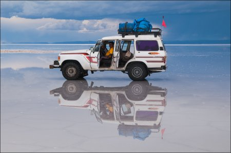 Солёное озеро Salar de Uyuni - Рай на Земле