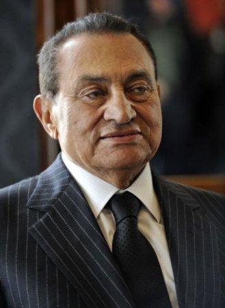 Мубарак и его костюм