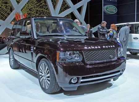 ��������� ������ Range Rover Autobiorgaphy Ultimate Edition