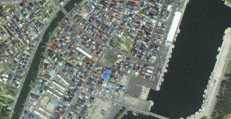 Япония до и после землятресения