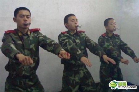 Борьба с курением в Армии Китая