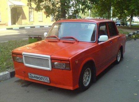 Русский тюнинг - бесмысленный и беспощадны