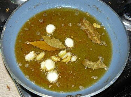 Сардины в маринаде (Caballa en escabeche )