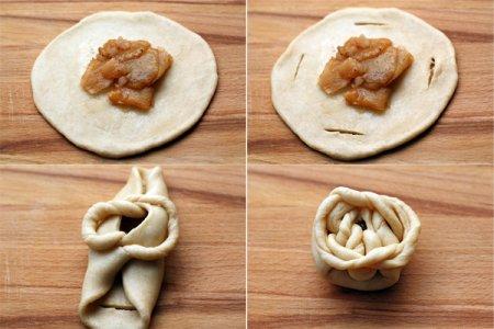 [выпечка] Булочки с яблочной начинкой
