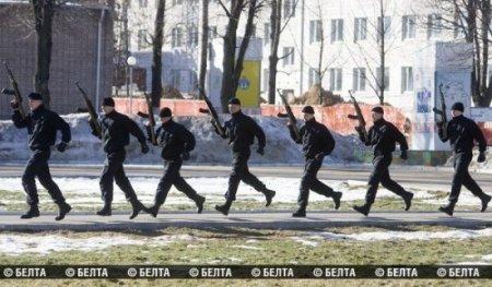 Любимые развлечения белорусских спецназовцев