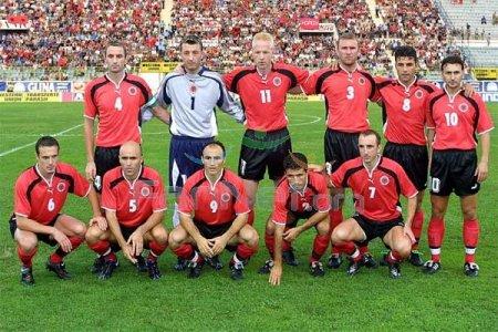 Состав сборной Албании на матч с белорусами