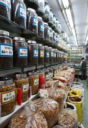 Рынок в Гонконге