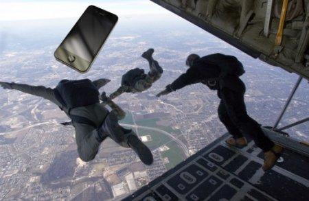 iPhone 4 пережил падение с трехкилометровой высоты