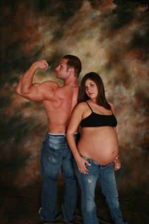 Странные фото беременных