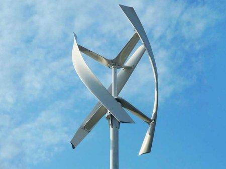 Power Flower - миниатюрные ветряные турбины с уникальной конструкцией