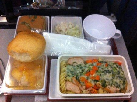 Бортпитание различных авиакомпаний