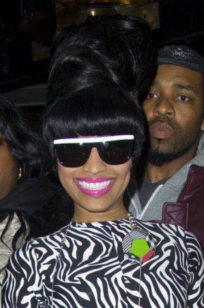 Прически Nicki Minaj