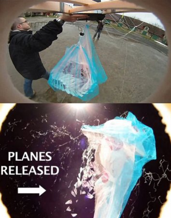 Сотня бумажных самолётиков приземлилась по всему миру