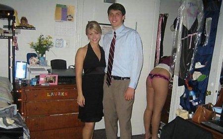 Сексуальные фотобомбы