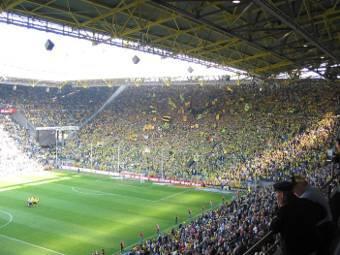 Полиция ФРГ предотвратила теракт на стадионе в Дортмунде