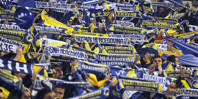 Боснию и Герцеговину исключили из отборочного турнира ЕВРО-2012