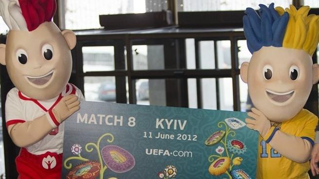 Небывалый спрос на билеты ЕВРО-2012