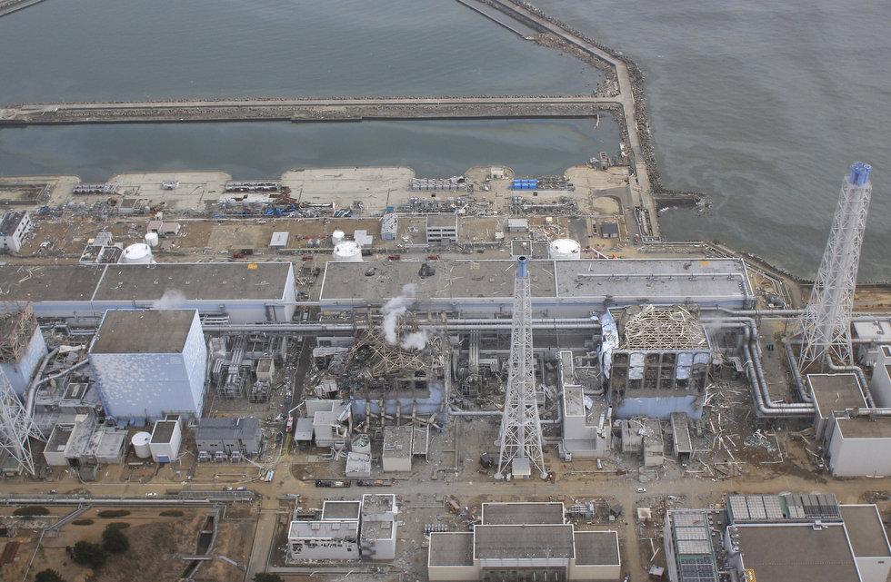 АЭС Фукусима-1: Вид сверху