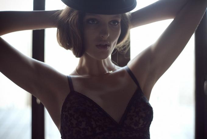 Джорджина Стожилкович для Tank Spring & Summer 2011