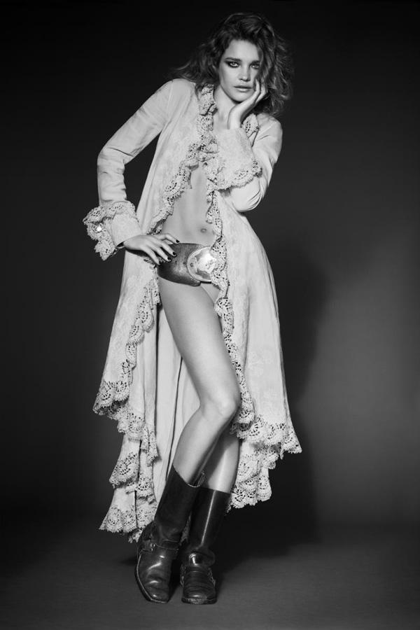 Наталья Водянова в апрельских фотосессиях