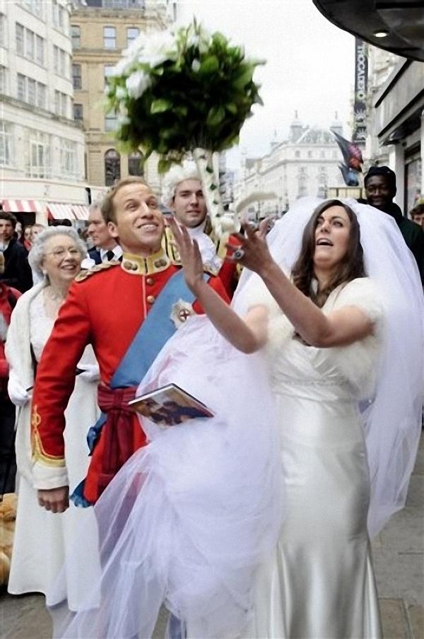Принц Уильям и Кейт Миддлтон поженились раньше времени